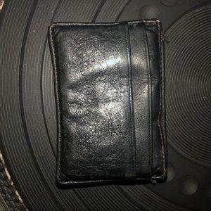 Vintage coach card holder